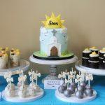 Communion cake table