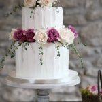 Buttercream 2 tier wedding cakes