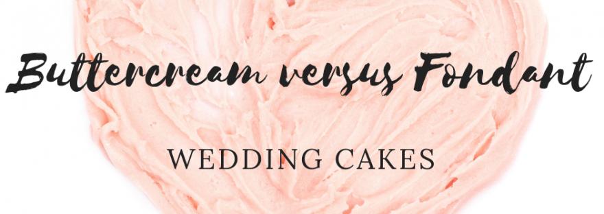 Buttercream wedding cakes icing explained